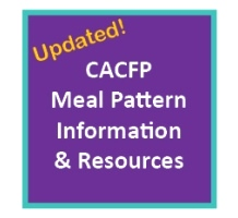 CACFP Meal Patterns
