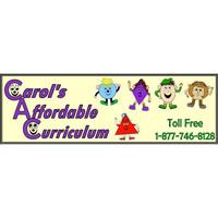 Carol's Affordable Curriculum